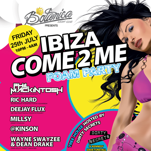 Ibiza Come2Me Foam Party